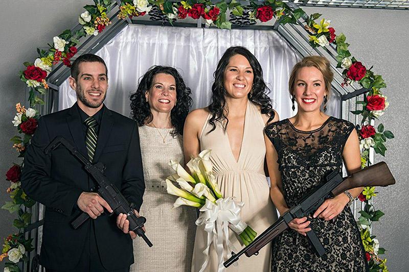 shotgunwedding08 Вооруженные свадьбы в Лас Вегасе
