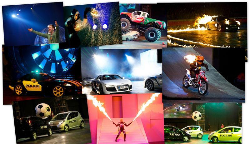 Top Gear Live: когда главный момент – крутящий!