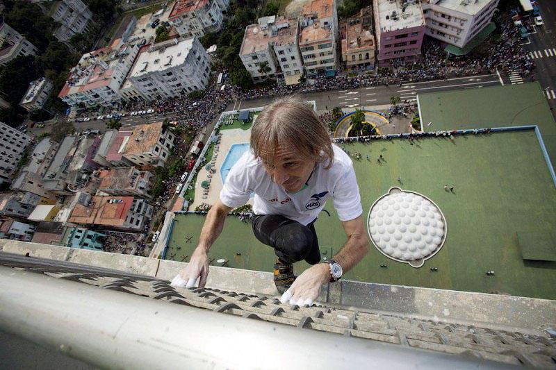 Ален Робер покорил самое высокое здание Гаваны