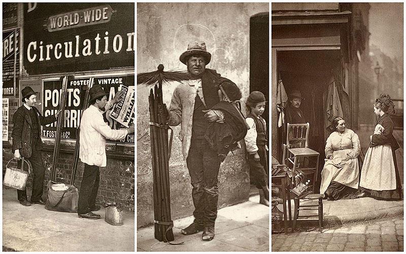 BIGPIC29 Уличная жизнь Лондона в 1876 1877 гг.