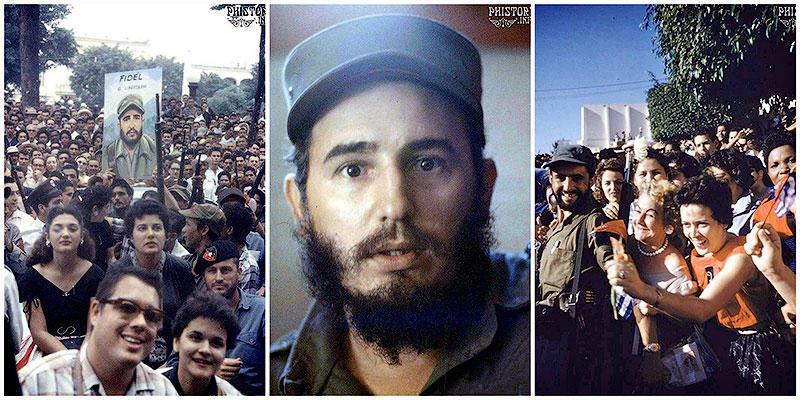 Кубинская революция в цвете. Январь 1959года