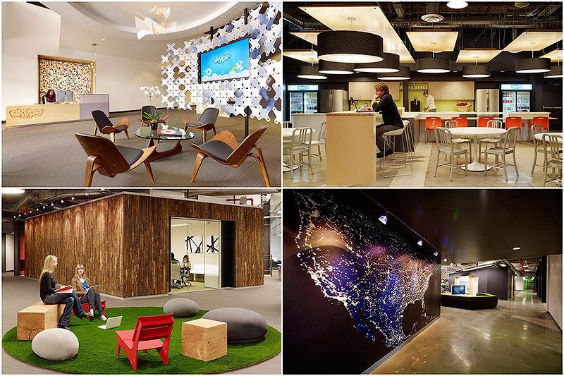 Головной офис Skype в ПалоАльто