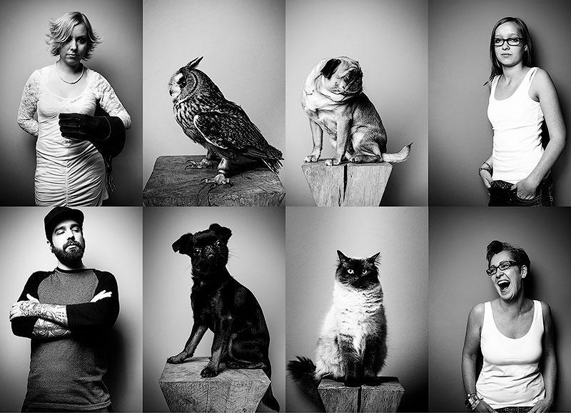 BIGPIC36 Домашние животные и их хозяева