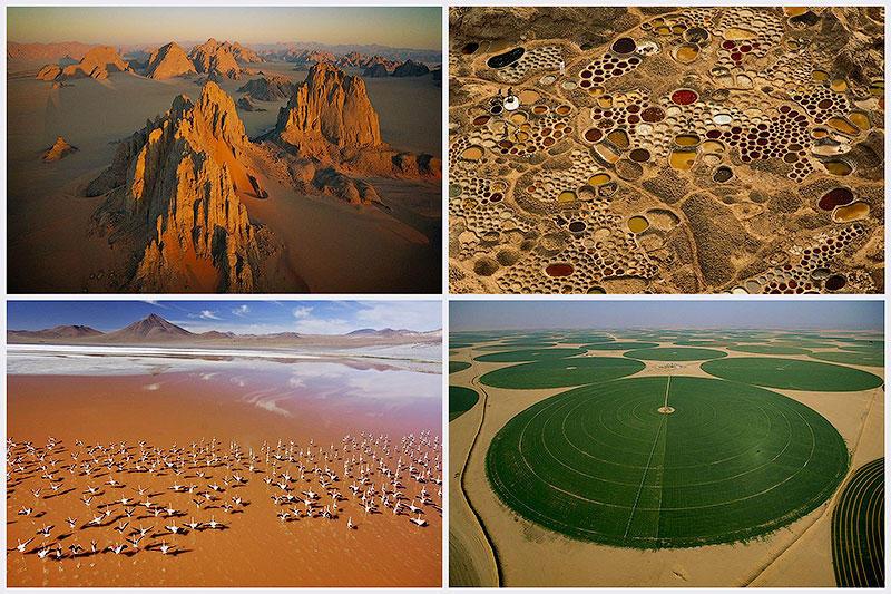 BIGPIC66 Вид на пустыни с воздуха