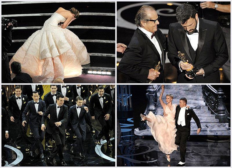 BIGPIC69 Избранные моменты из церемонии вручения Оскар 2013