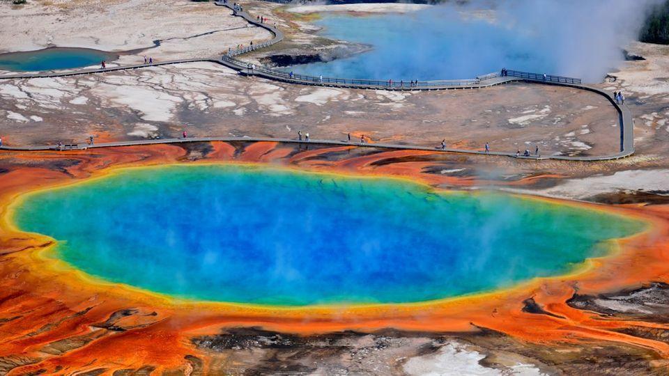 Hot Springs01 Красивые горячие источники
