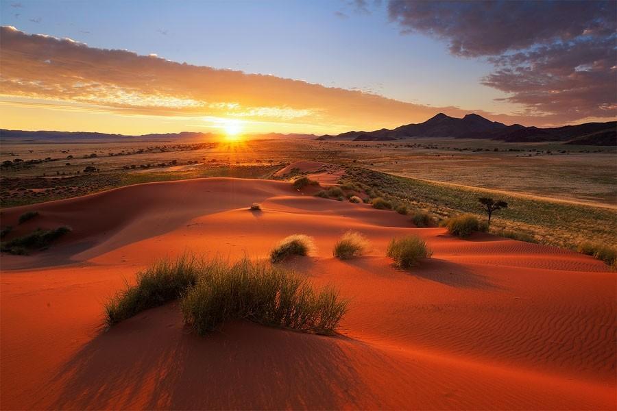 Namibia03 Фантастические пейзажи Намибии