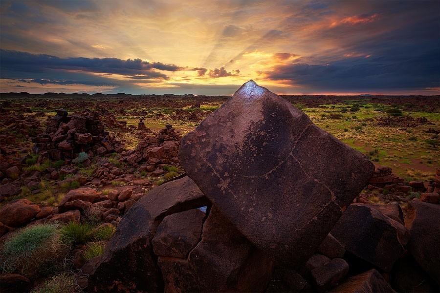 Namibia21 Фантастические пейзажи Намибии