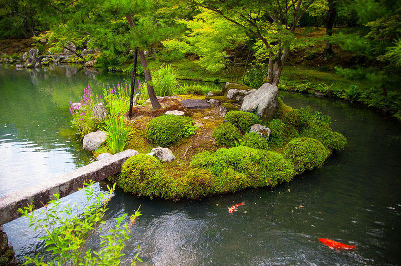 Nijo01 Сады замка Нидзё