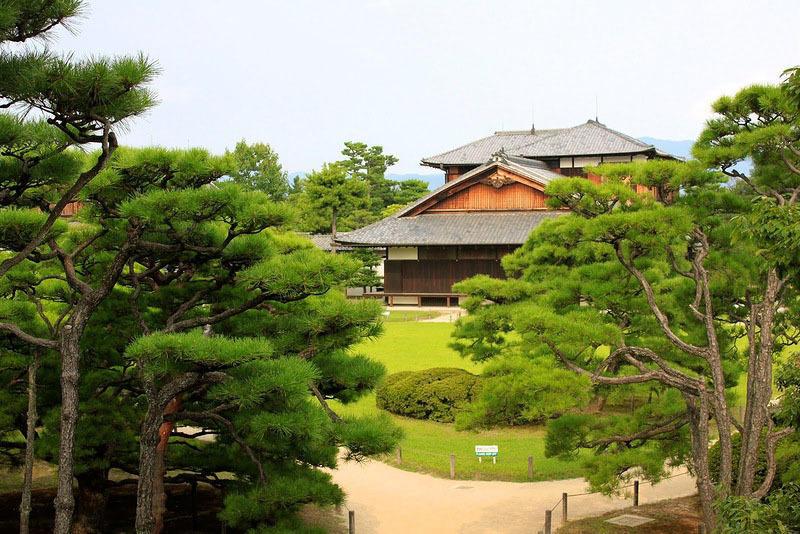 Nijo02 Сады замка Нидзё