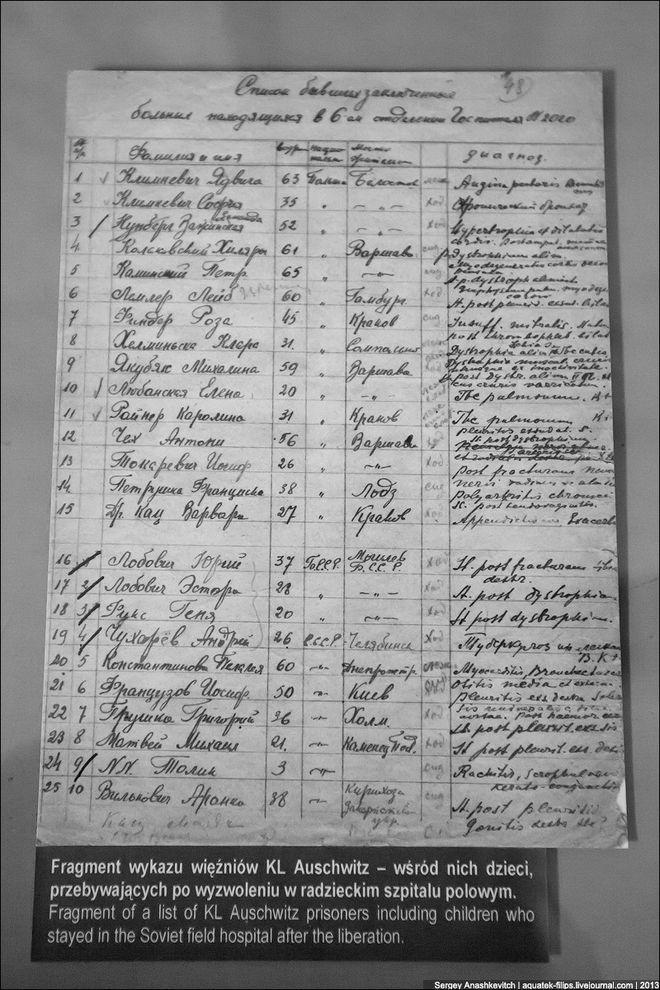 auschwitz35 Аушвиц. Фабрика смерти