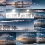 Взрыв метеорита в небе над Челябинском (Чебаркульский метеорит). Полный фото-отчет с комментариями