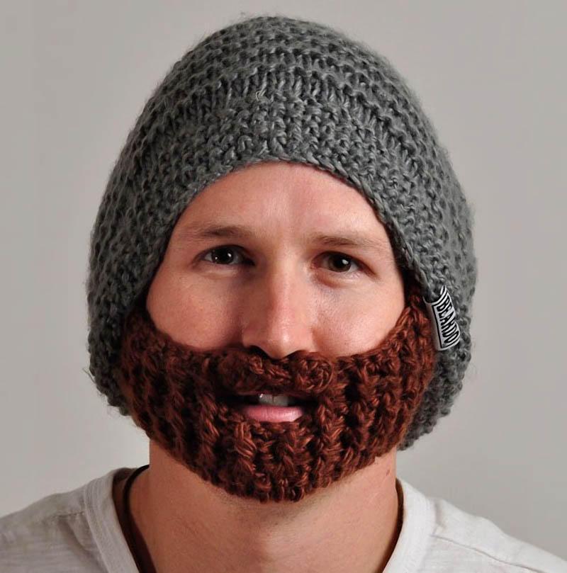 Шапка с бородой 5