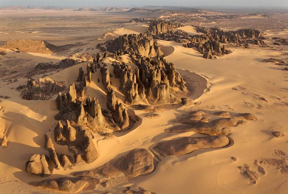 desert10 Вид на пустыни с воздуха
