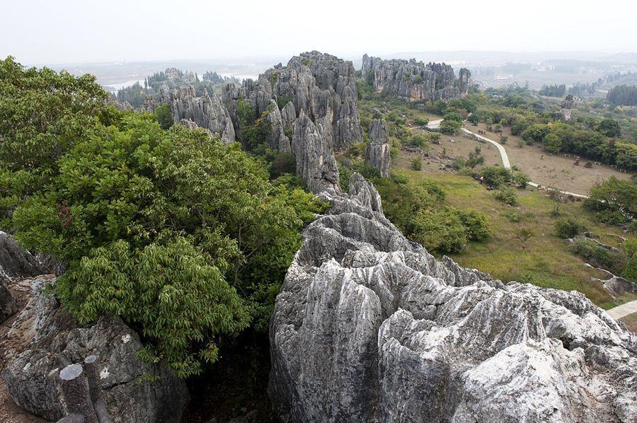 kamenniles 1 Чудеса света: каменный лес Шилинь в Китае