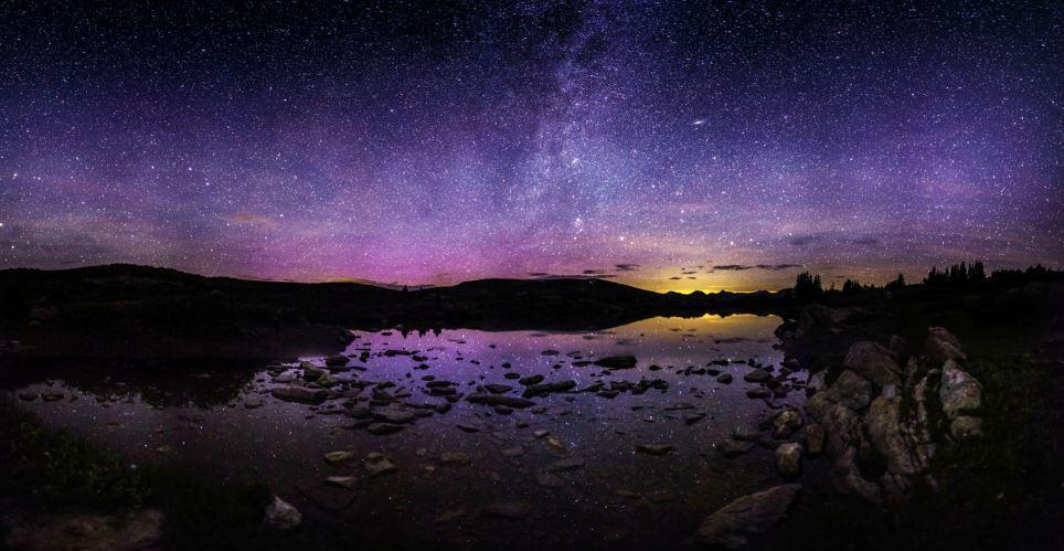 Ночное небо фотографа томаса о