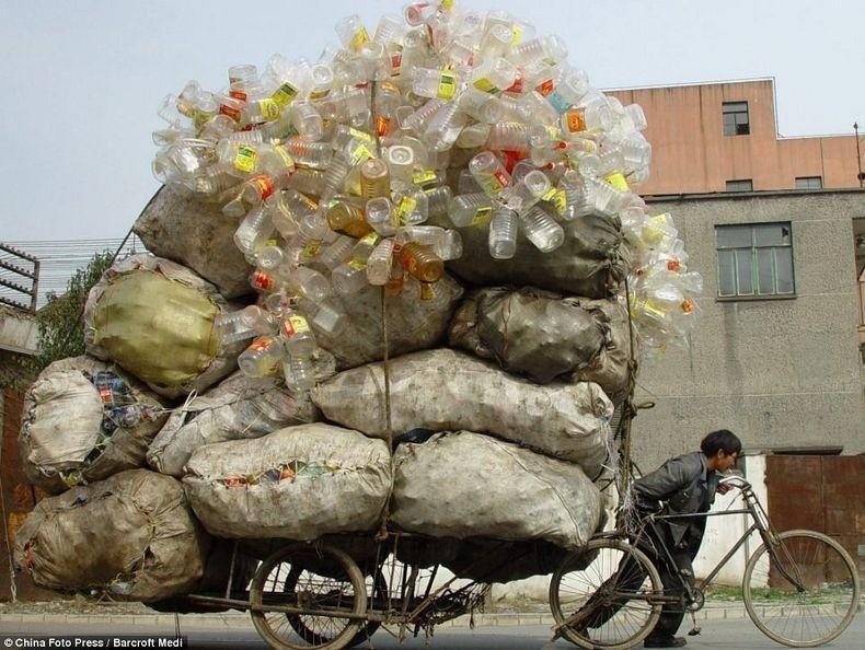 overload031 Перегруженный транспорт Китая