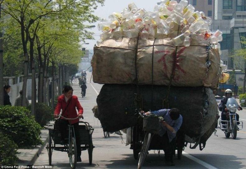 overload041 Перегруженный транспорт Китая