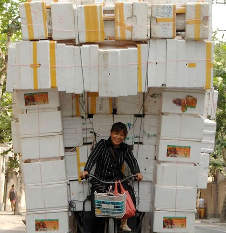overload061 Перегруженный транспорт Китая