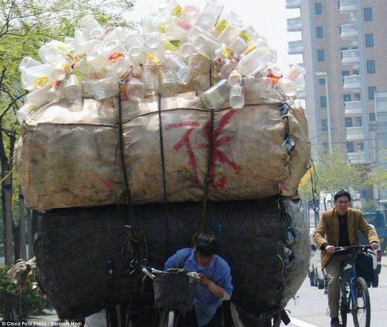 overload081 Перегруженный транспорт Китая