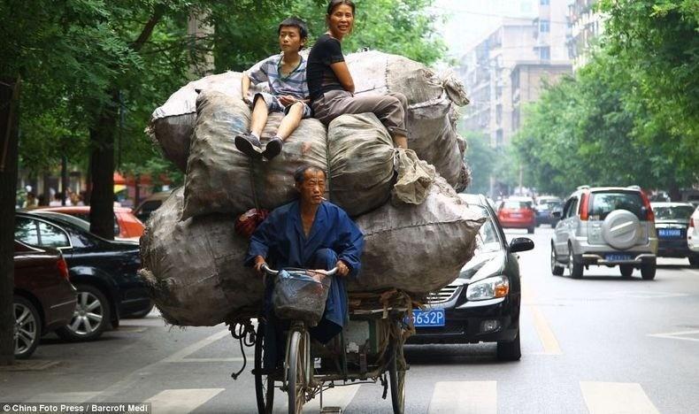 overload091 Перегруженный транспорт Китая