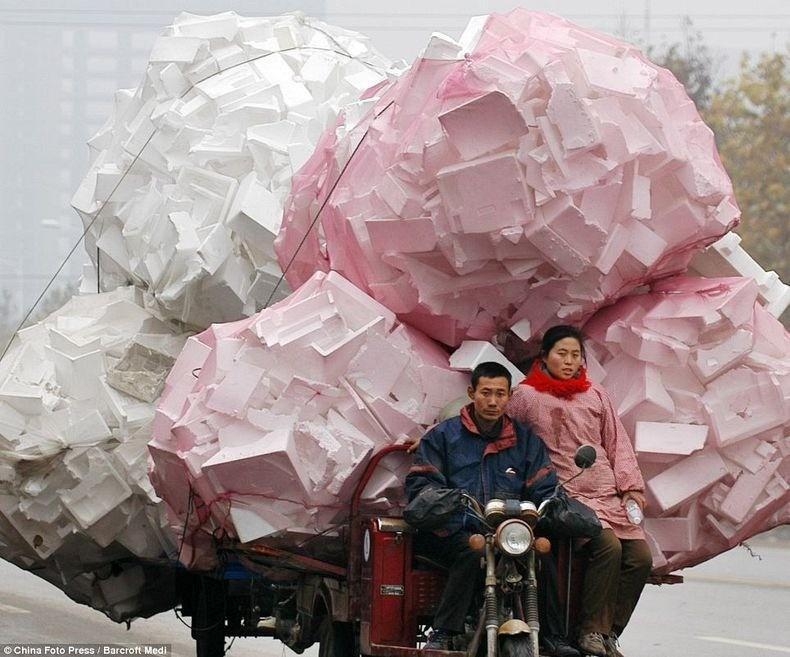 overload101 Перегруженный транспорт Китая