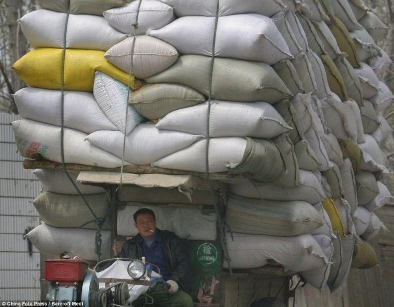 overload111 Перегруженный транспорт Китая