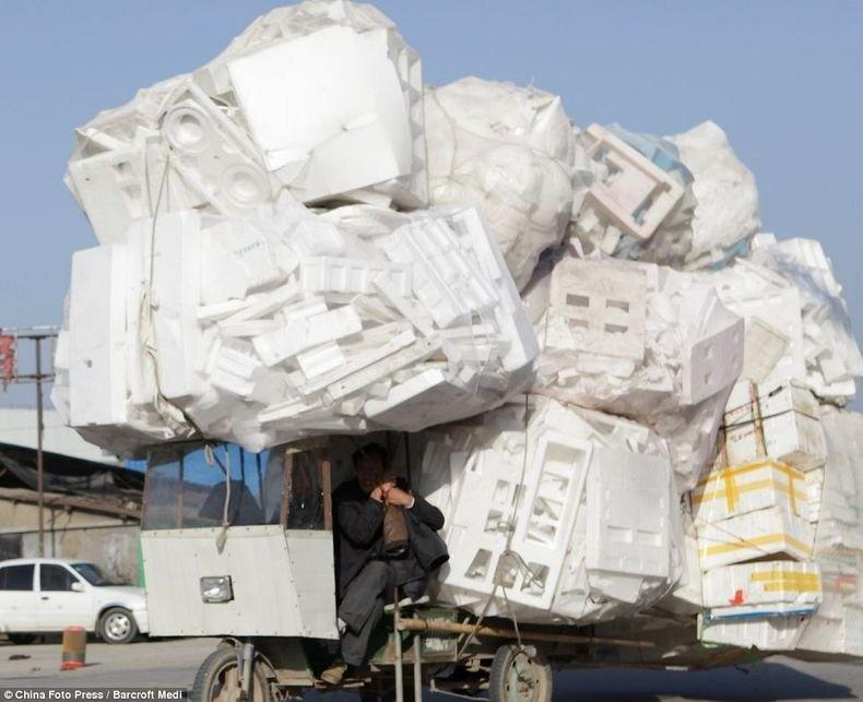 overload131 Перегруженный транспорт Китая