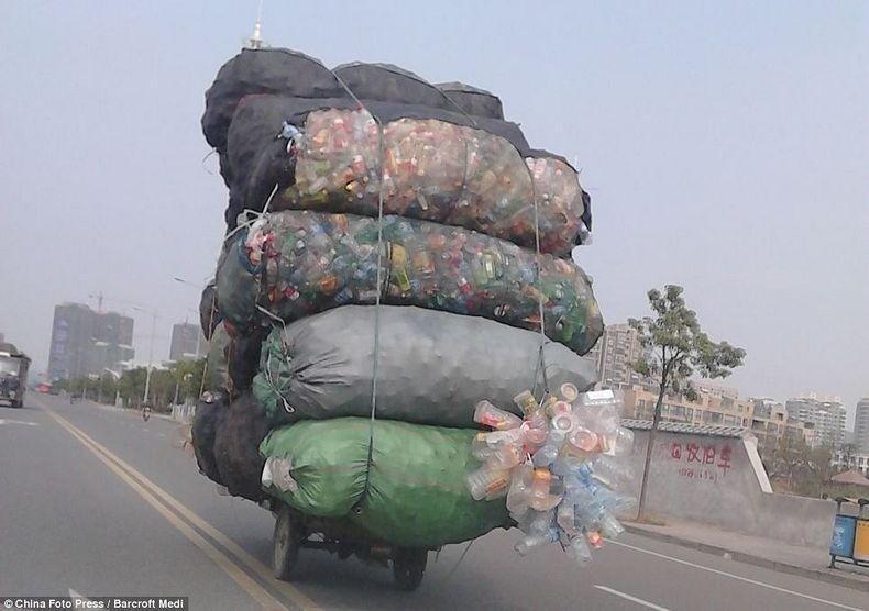 overload141 Перегруженный транспорт Китая