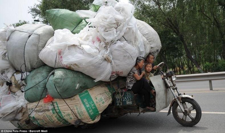 overload15 Перегруженный транспорт Китая
