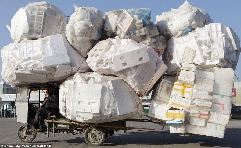 overload21 Перегруженный транспорт Китая