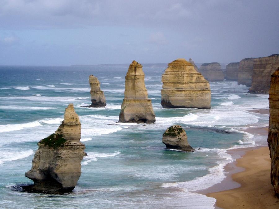 rocks23 Самые красивые и необычные морские скалы