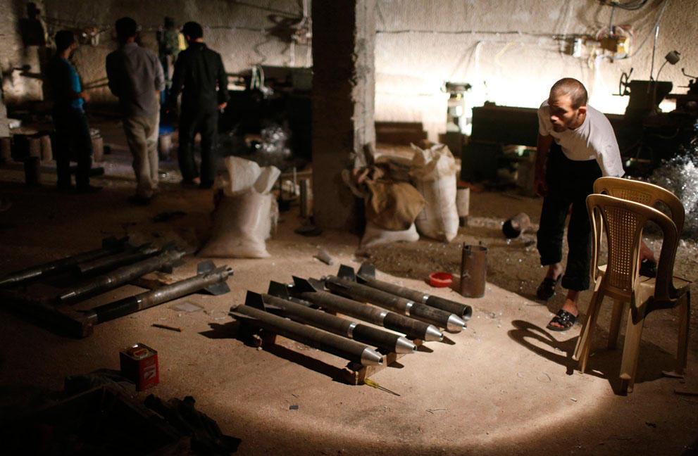 samodelnieorujiya 14 armas improvisadas rebeldes sirios