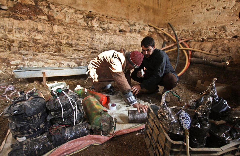samodelnieorujiya 16 armas improvisadas rebeldes sirios