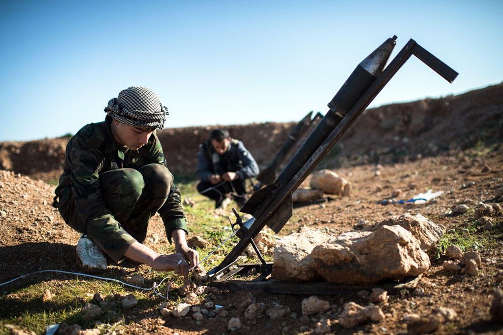 samodelnieorujiya dos armas caseras rebeldes sirios