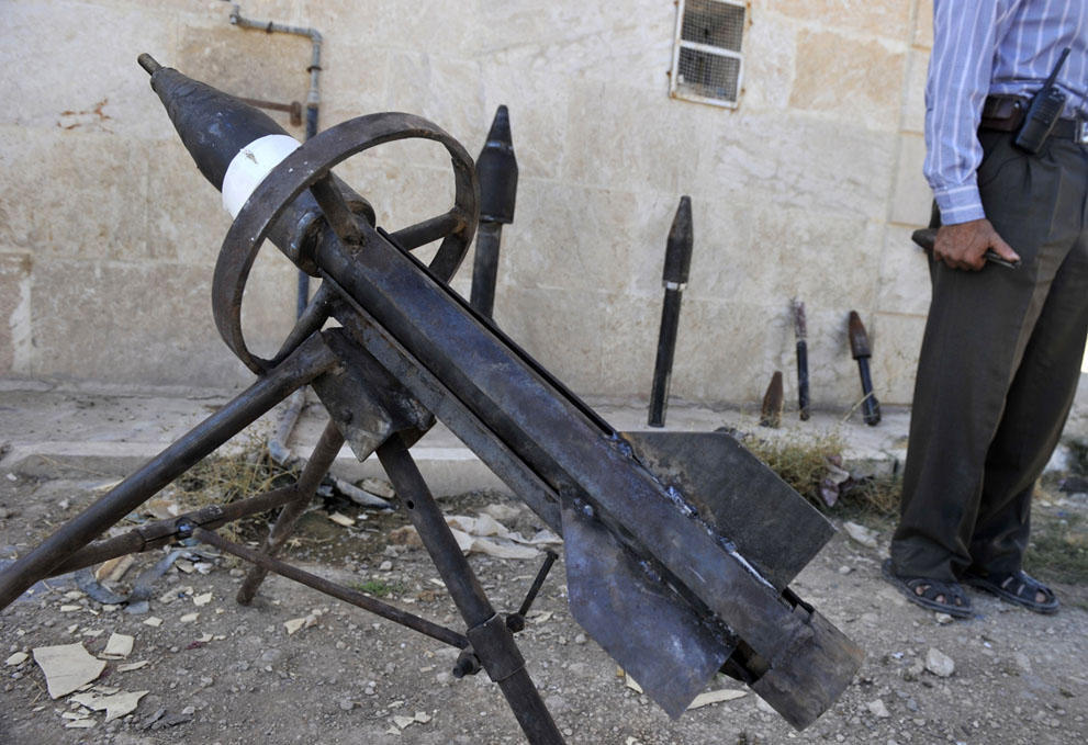 samodelnieorujiya 33 armas improvisadas rebeldes sirios