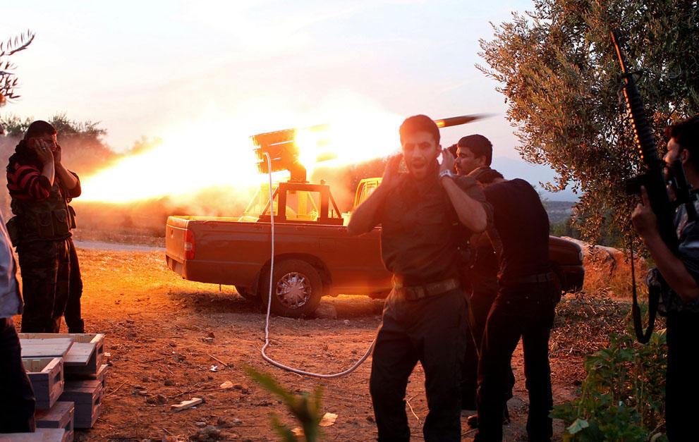 samodelnieorujiya 37 Самодельное оружие сирийских повстанцев