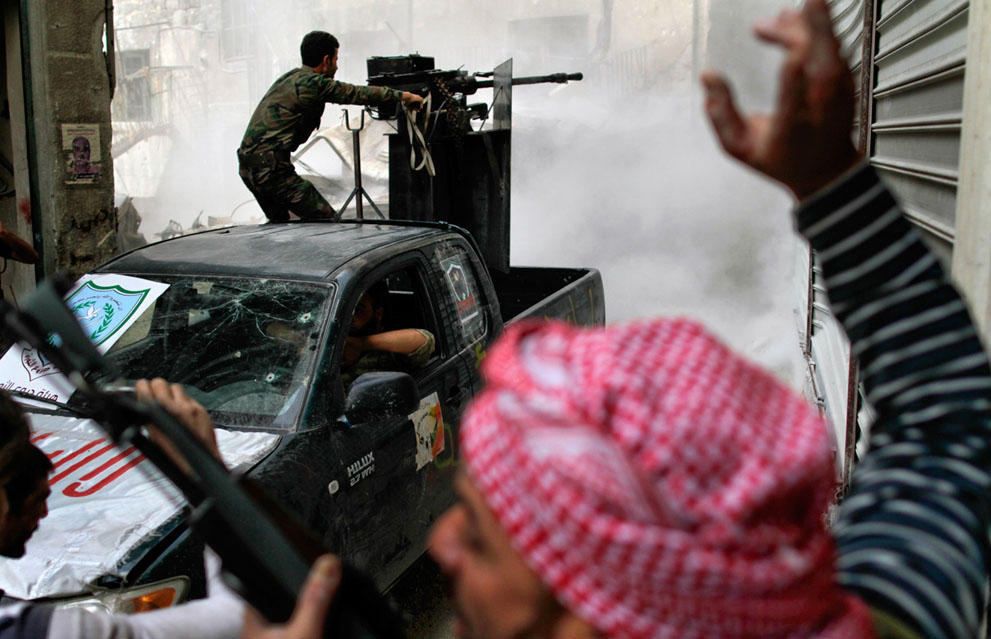 samodelnieorujiya siete armas improvisadas rebeldes sirios