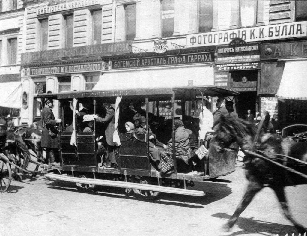 Транспорт Санкт-Петербурга начала 20 века. Sbppubtransp12