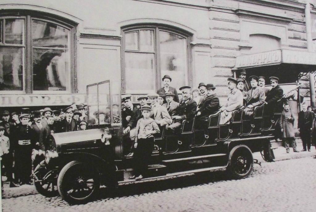 sbppubtransp13交通サンクトペテルブルクは、20世紀初頭