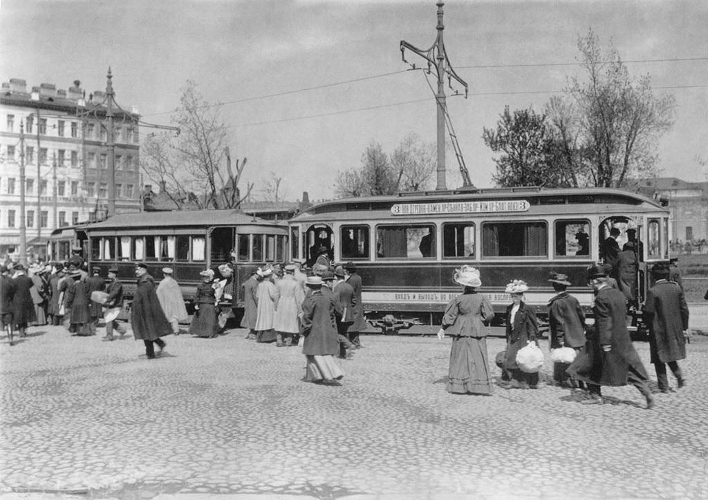 Транспорт Санкт-Петербурга начала 20 века. Sbppubtransp16