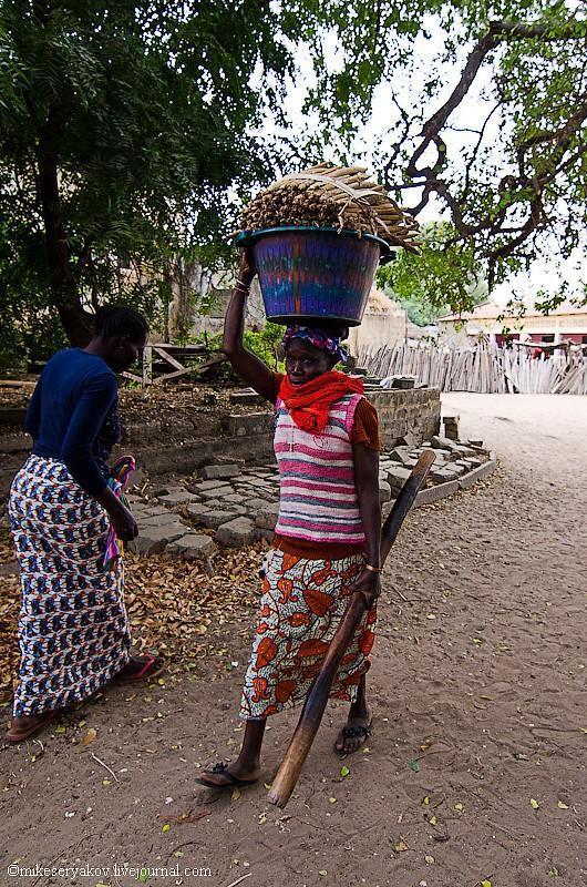 senegal16 Деревня Мар Лодж и Сенегальская школа