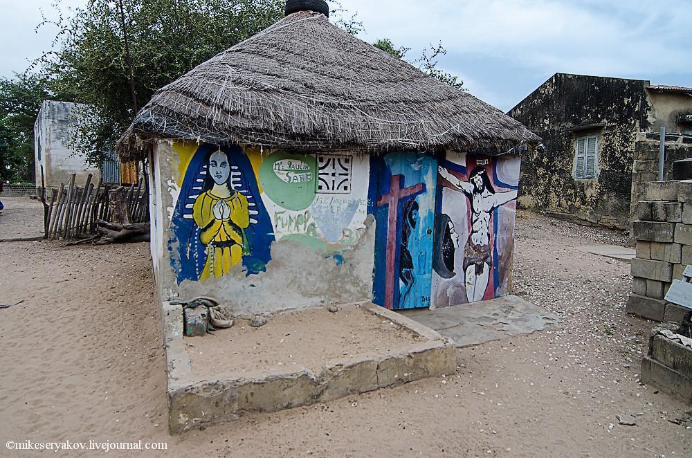 senegal20 Деревня Мар Лодж и Сенегальская школа