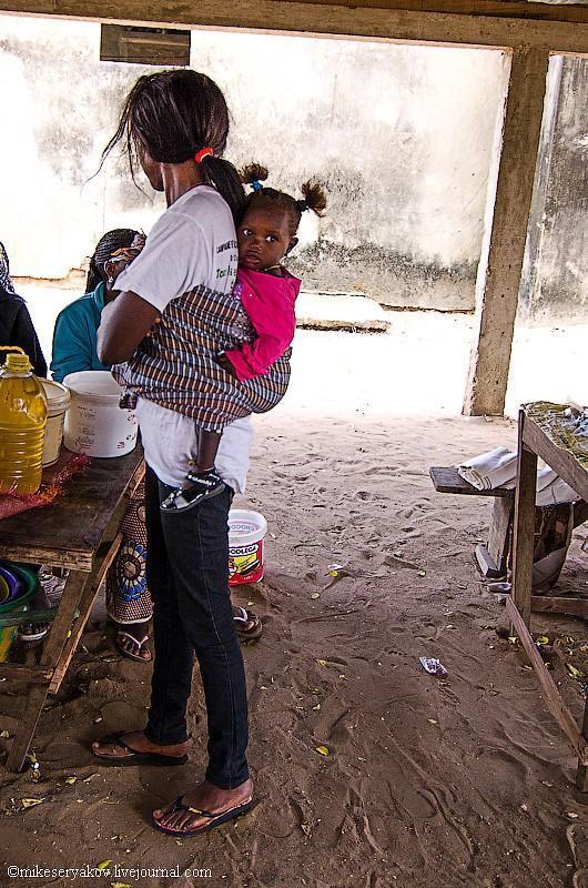 senegal29 Деревня Мар Лодж и Сенегальская школа