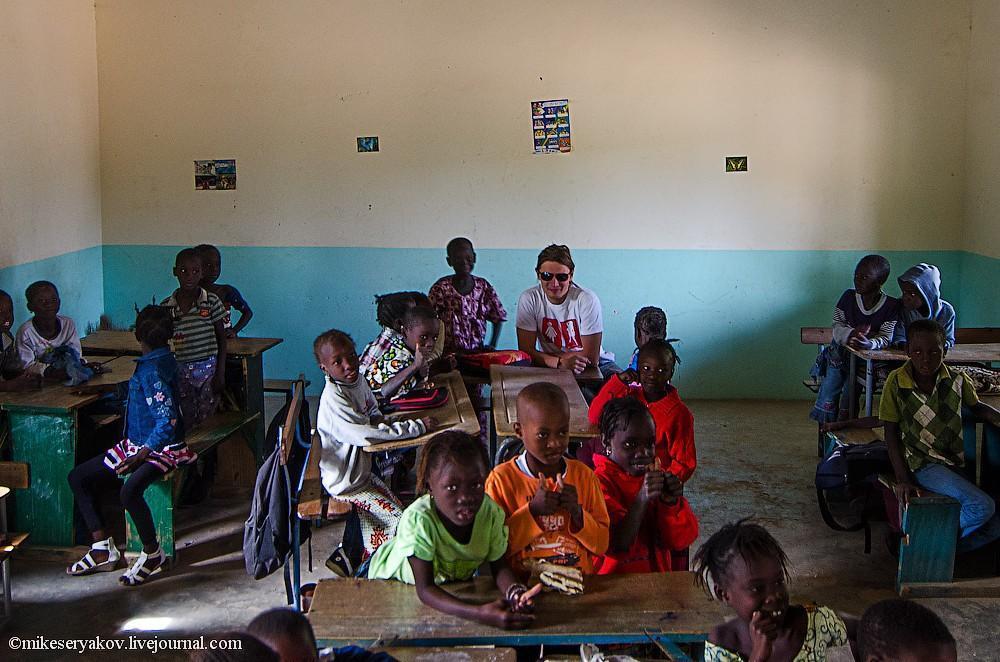 senegal34 Деревня Мар Лодж и Сенегальская школа