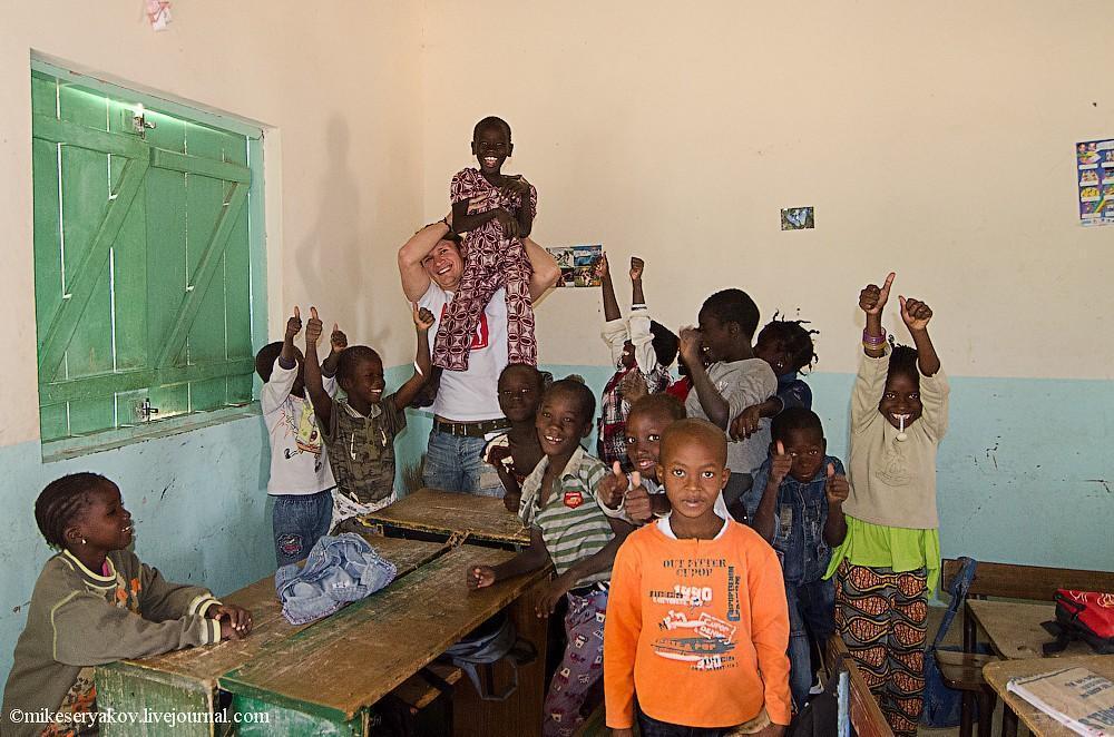 senegal35 Деревня Мар Лодж и Сенегальская школа