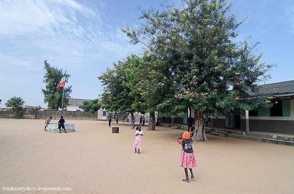 senegal39 Деревня Мар Лодж и Сенегальская школа
