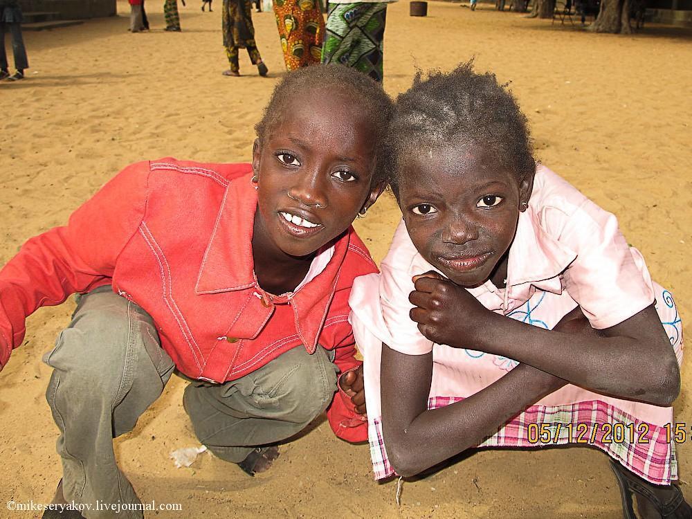 senegal40 Деревня Мар Лодж и Сенегальская школа