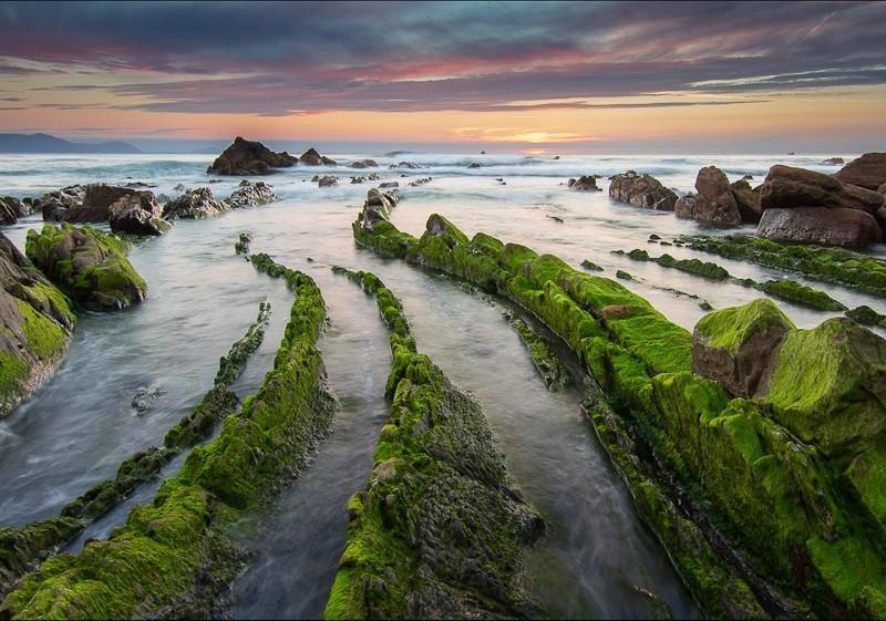 turbidites02 Турбидиты   необычные образования на побережье Испании
