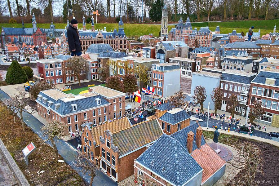 110 Madurodam   музей миниатюры в Гааге